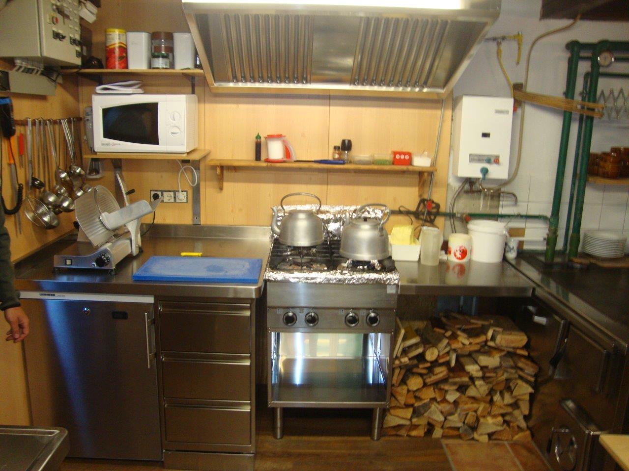 AGP - Preintalerhütte .. täglich frisch gekocht